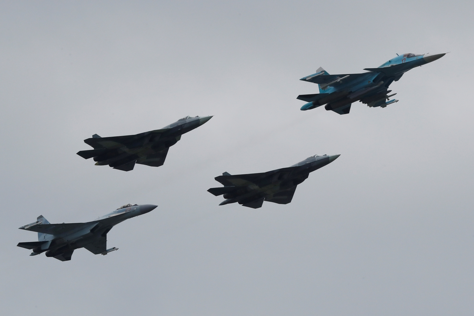 Russia sixth-generation fighter jet lasers