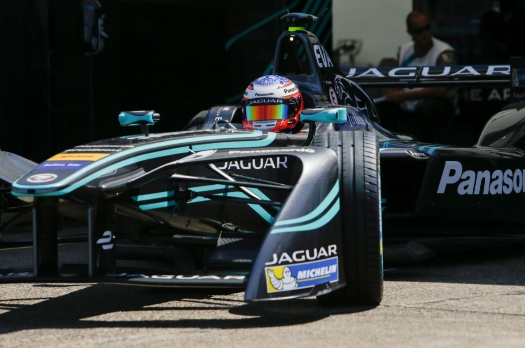 Jaguar I-TYPE Formula E car