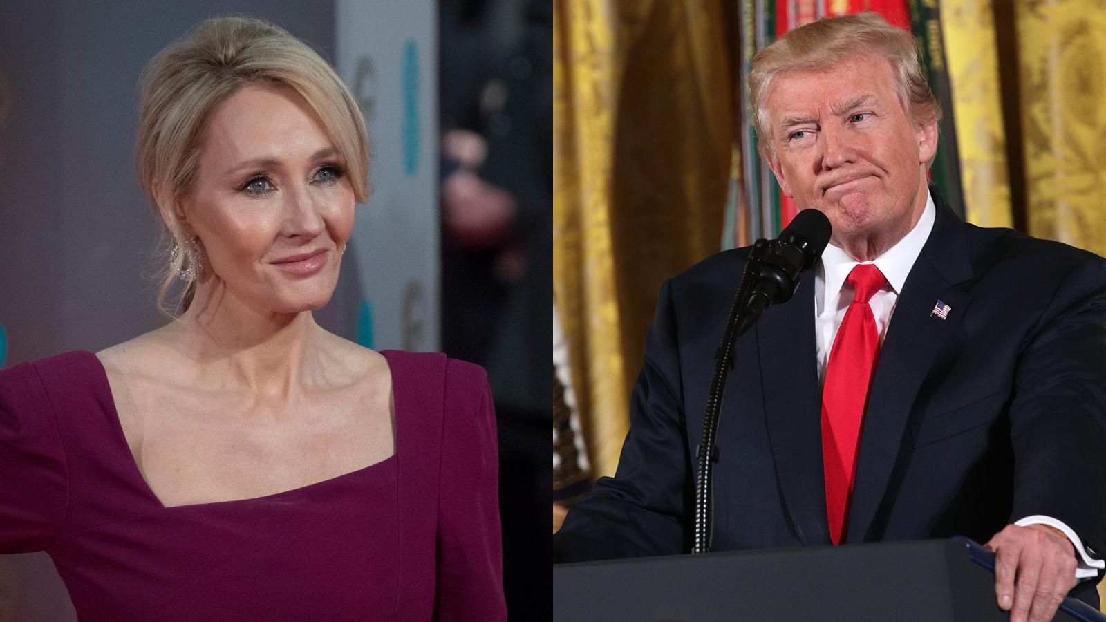 JK Rowling Donald Trump