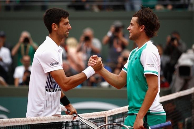 Dominic Thiem vs Novak Djokovic