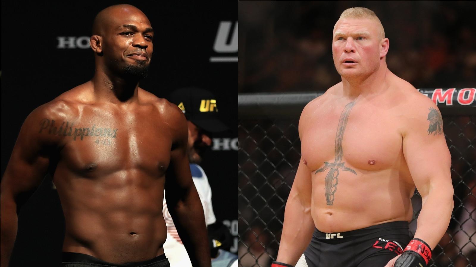 Jon Jones Brock Lesnar UFC