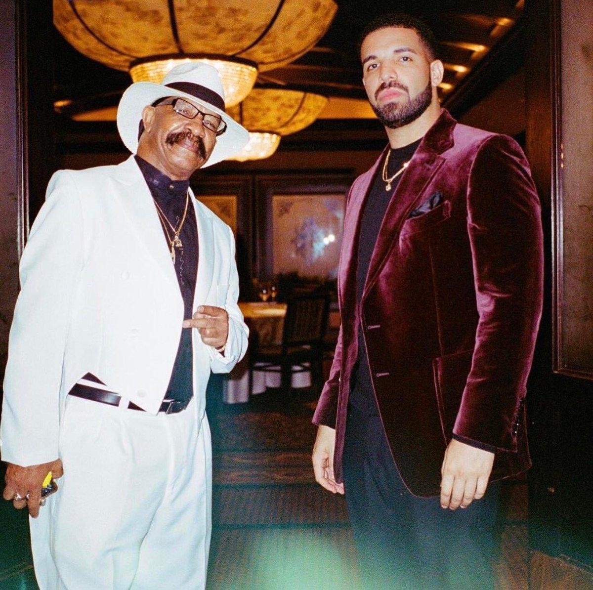 Drake and Dennis Graham
