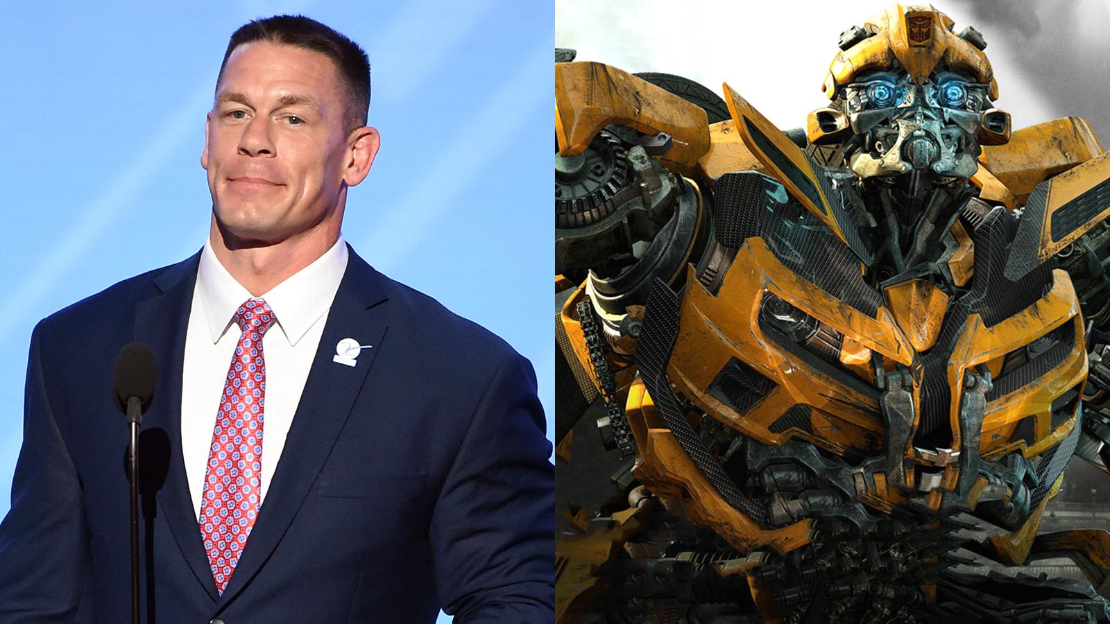 John Cena Transformers Bumblebee