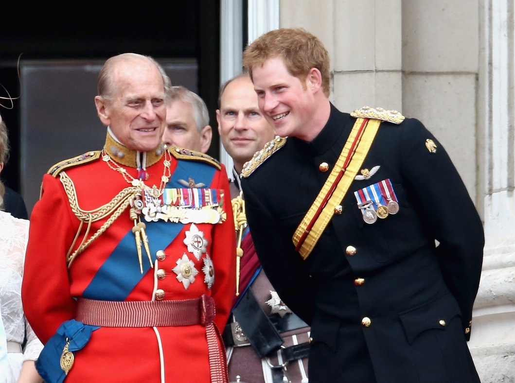 Prince Philip looks incredibly similar to grandson Prince Harry in this vintage cover