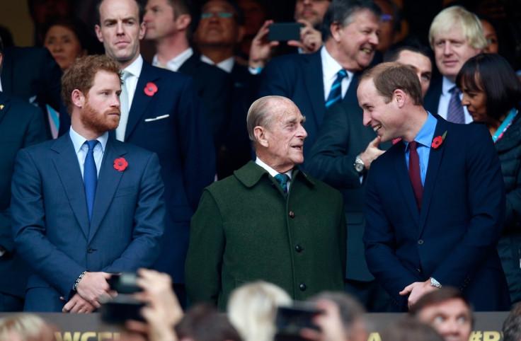 Prince Philip Duke of Edinburgh.