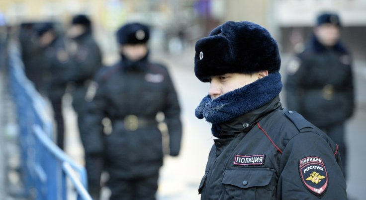 Russian court guard