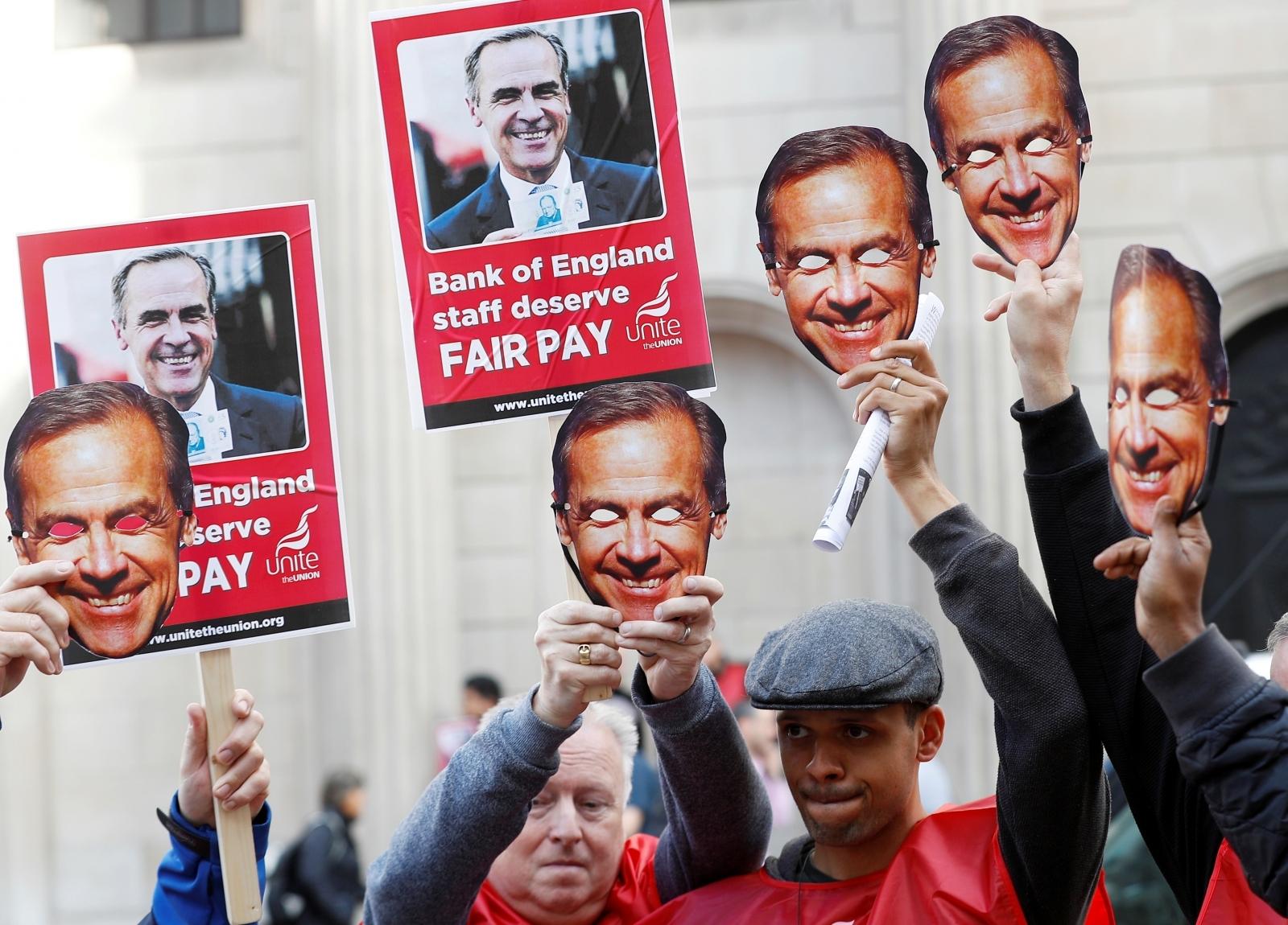 Bank of England strike