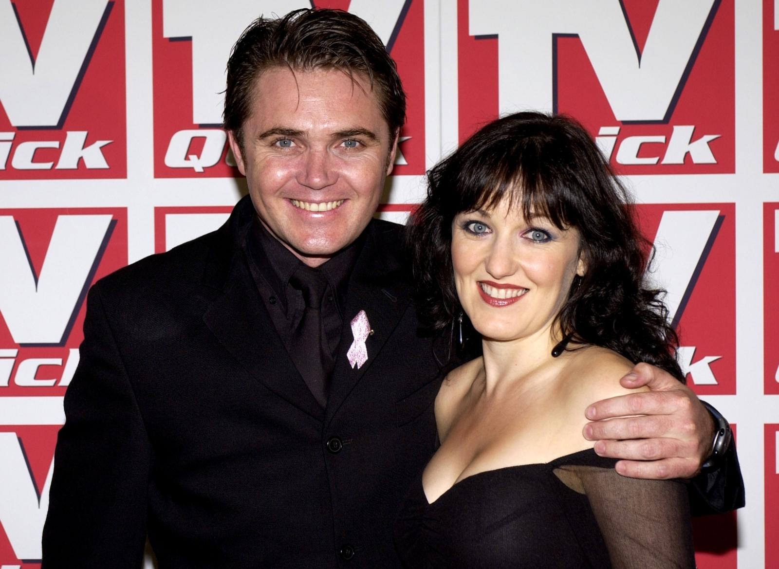 Alex Ferns and Kacey Ainsworth