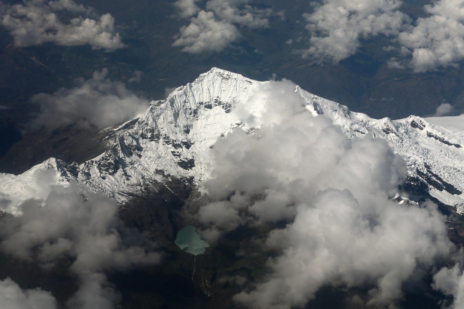 Cordillera Blanca mountain range