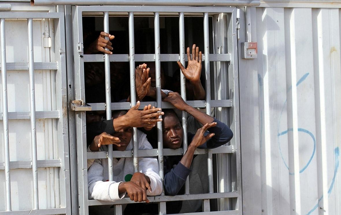 migrants libya Italy