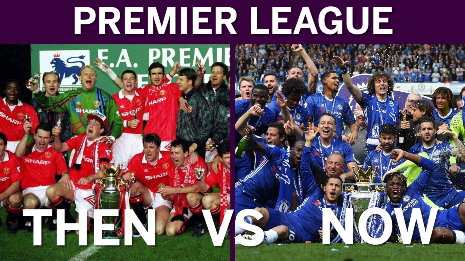 Premier League At 25: Then Vs Now