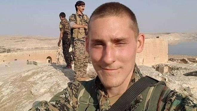 Ryan Lock who fought alongside Kurdish forces in Syria killed himself to avoid falling in the hands of Islamic State