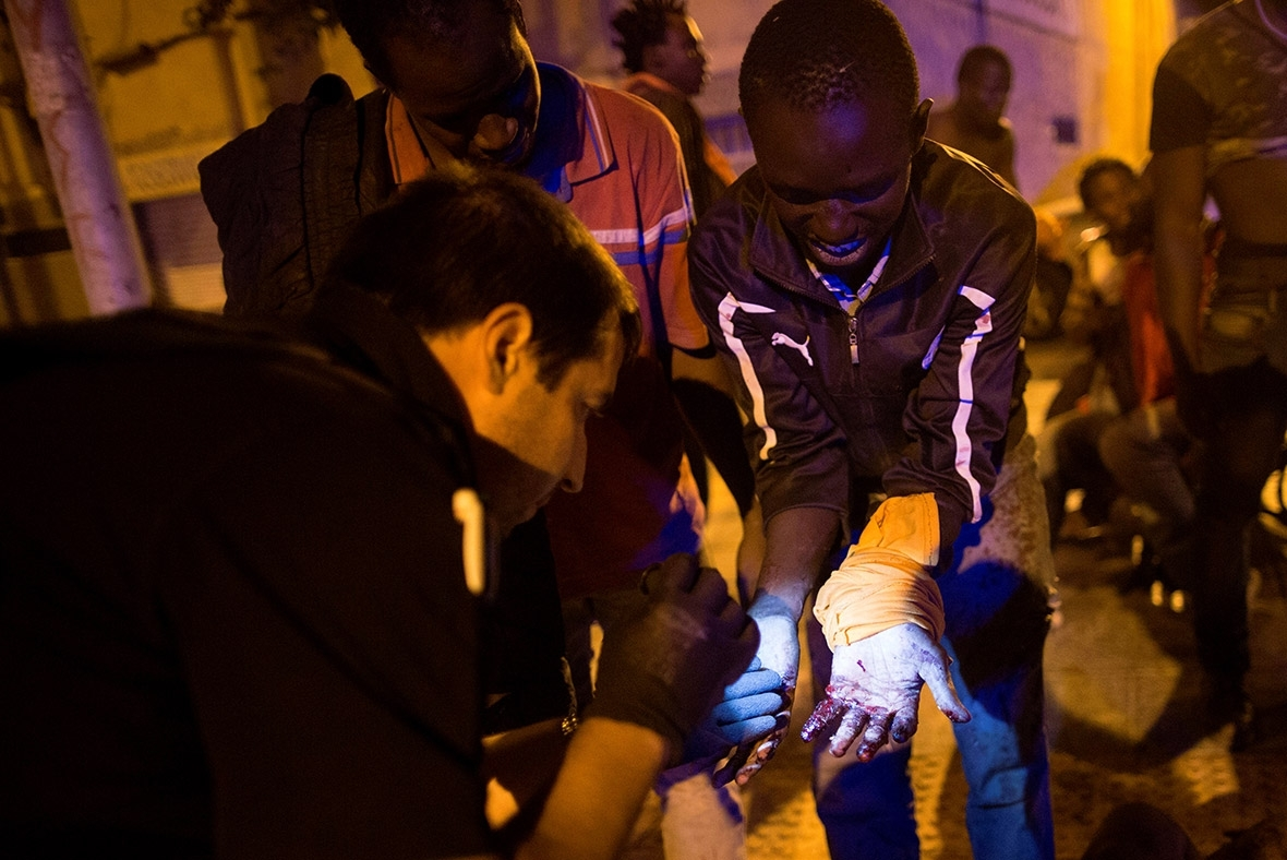 Spain migrants