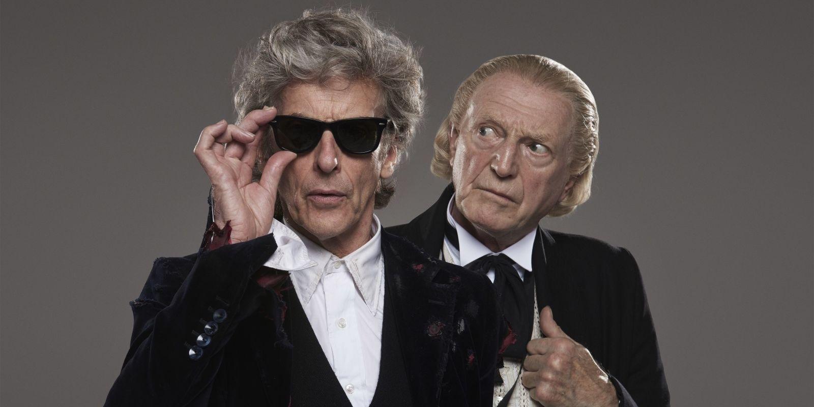 Doctor Who Peter Capaldi David Bradley