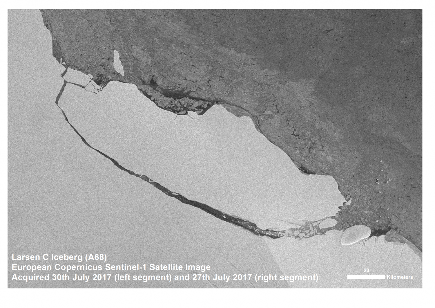 The Larsen-C iceberg breakaway story might not be over yet