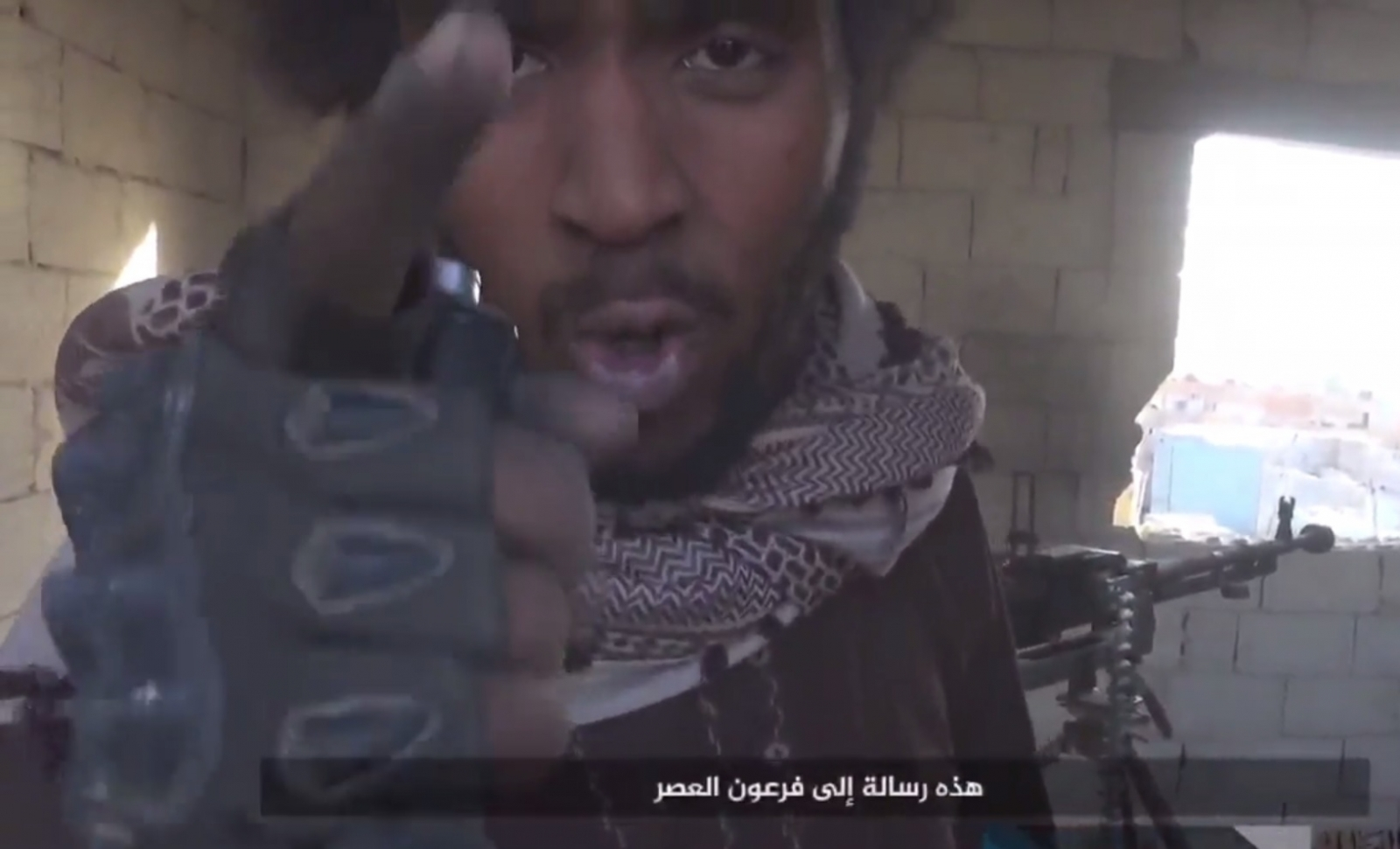 Isis fighter british accent