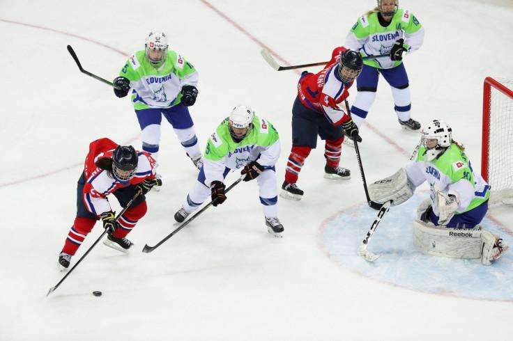 North Korea ice hockey team