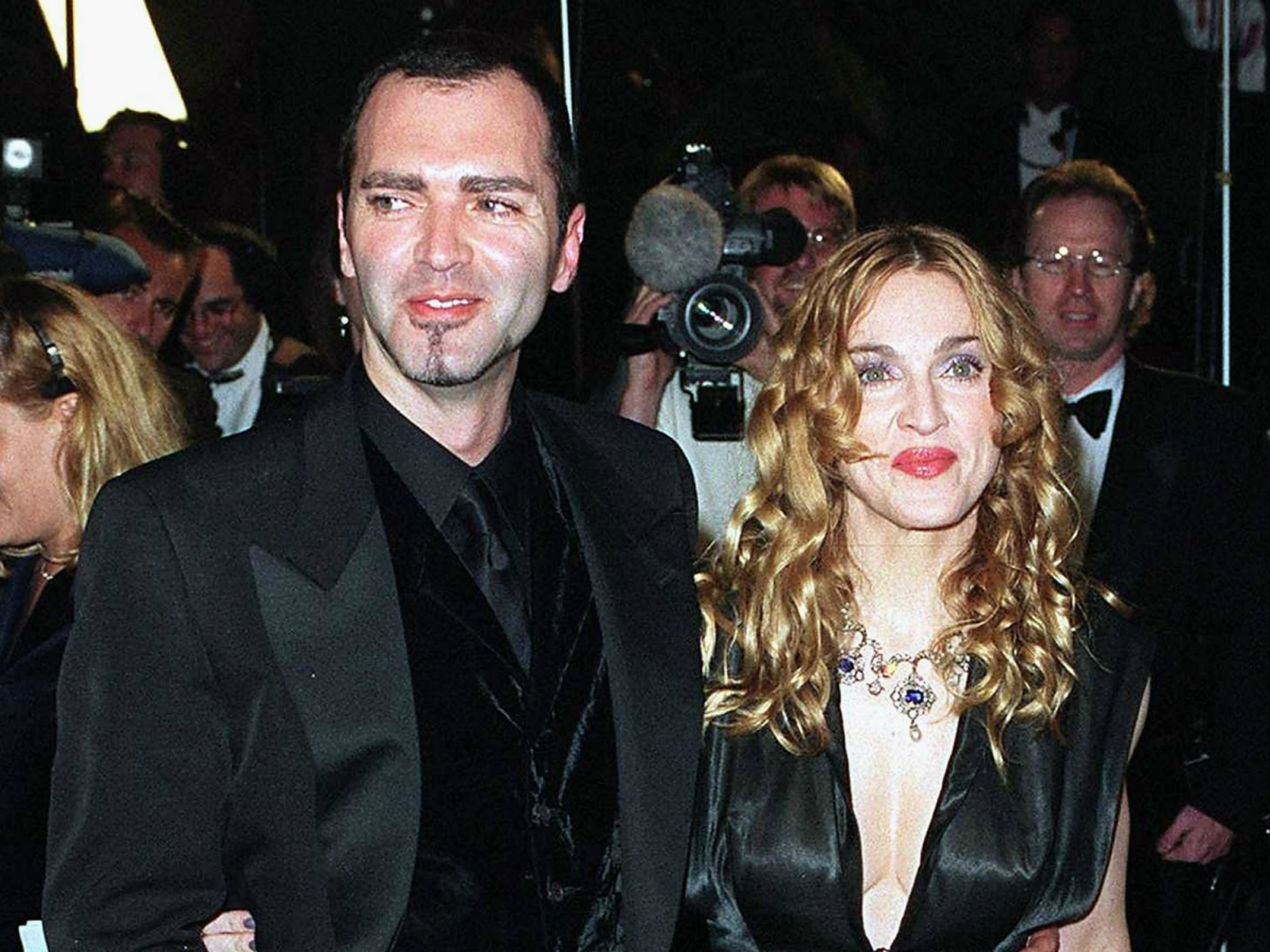 Madonna and Christopher Ciccone