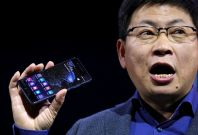 Huawei's consumer business chief executive Richard Yu