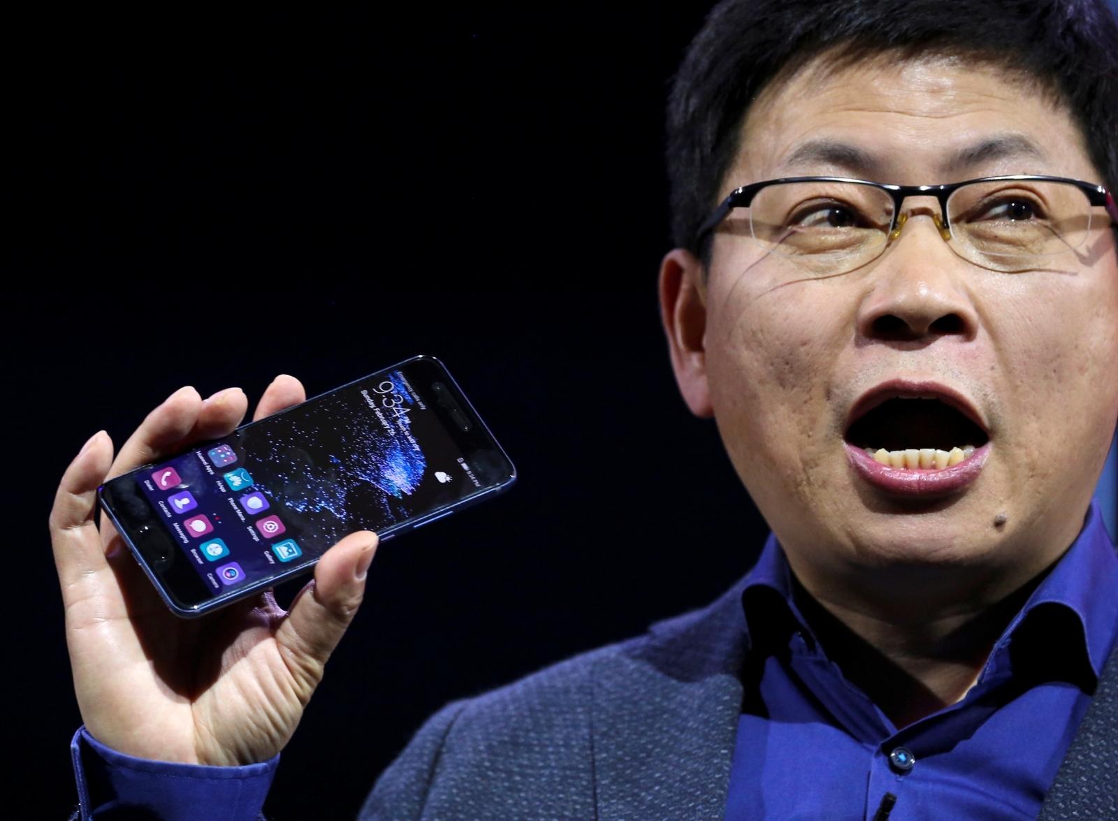 Huawei's consumer business chief executive Richard Yu
