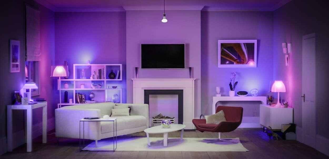 Philips Hue smart lights