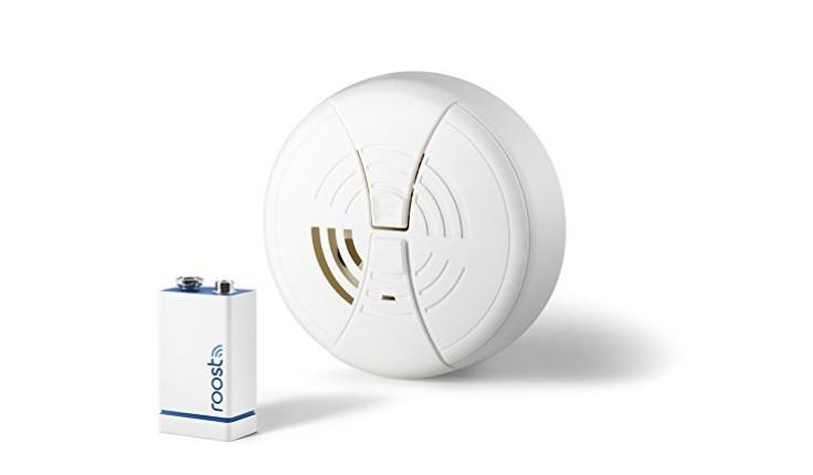 Roost smart smoke alarm battery