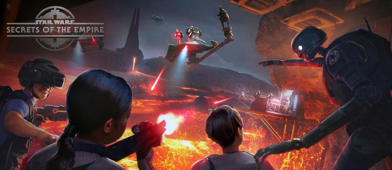 Star Wars: Secrets of the Empire VR