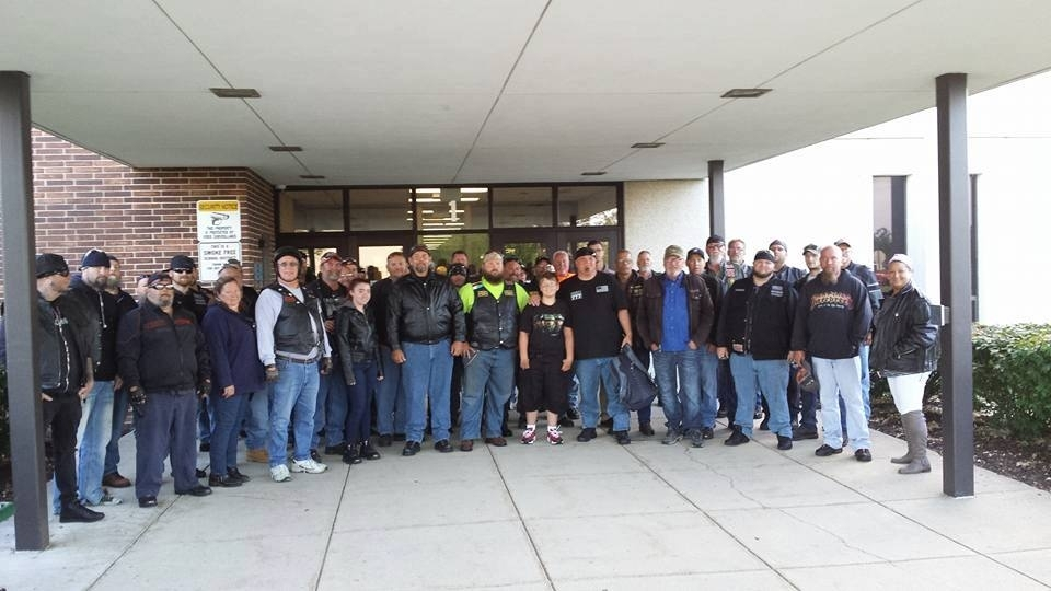 Bikers escort bullied student to school