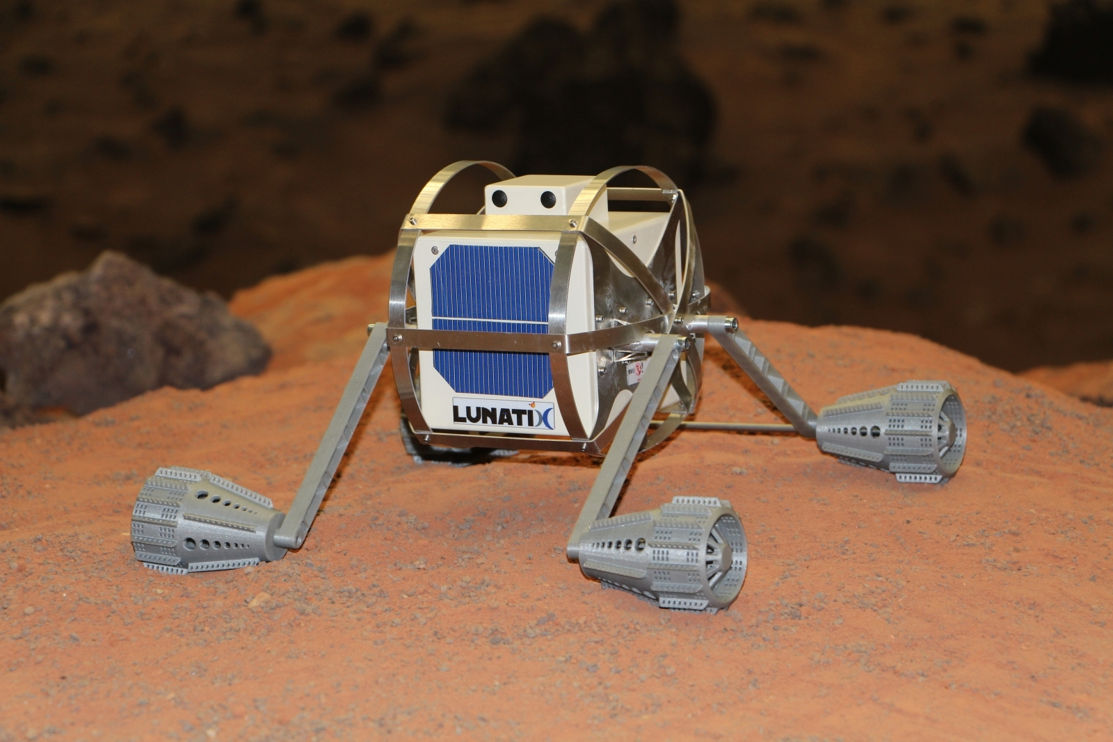 Lunar Nanobots
