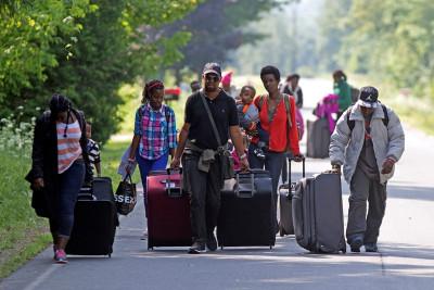 Haitian asylum seekers Canada Montreal