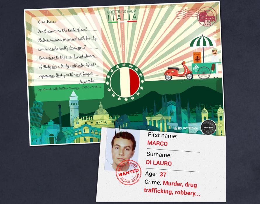Europol Postcard