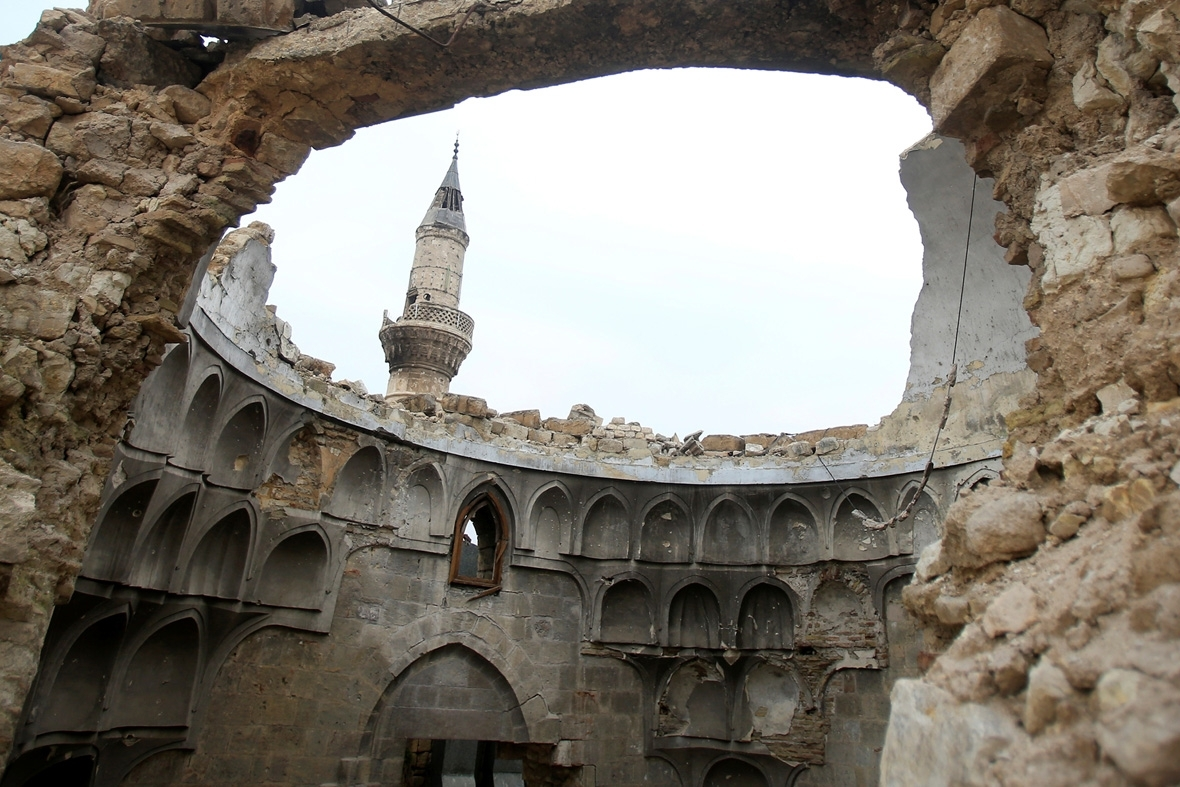 Rebuilding Aleppo destruction Unesco