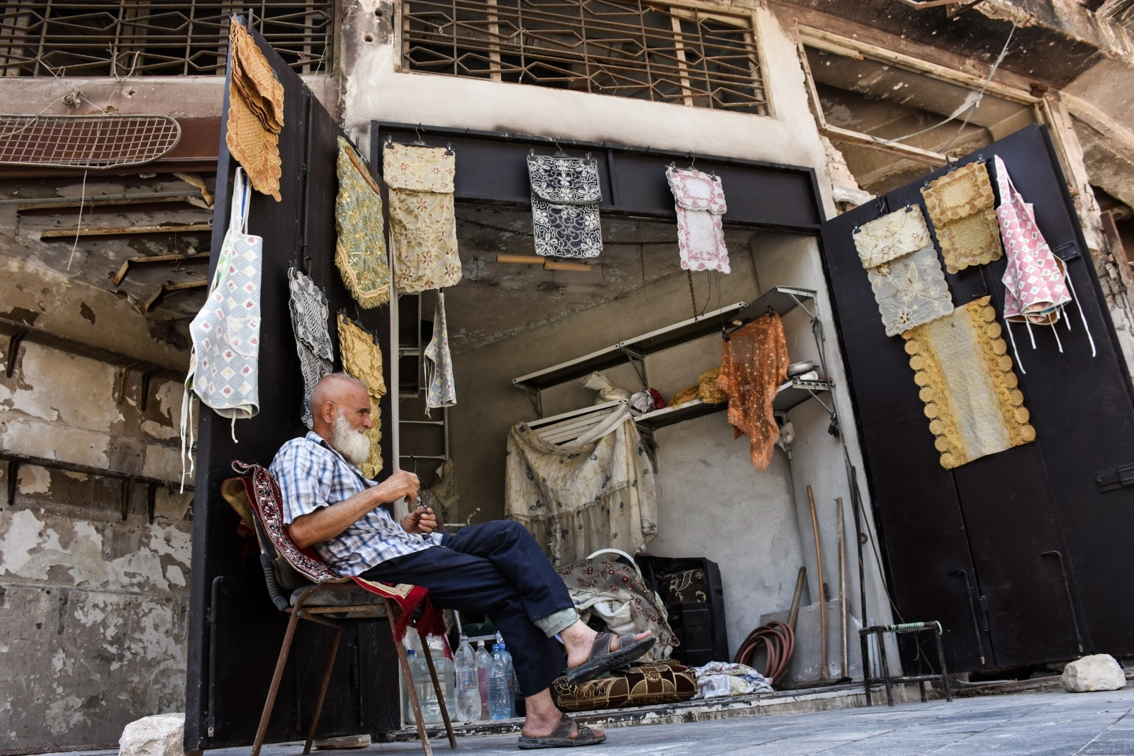 Rebuilding Aleppo