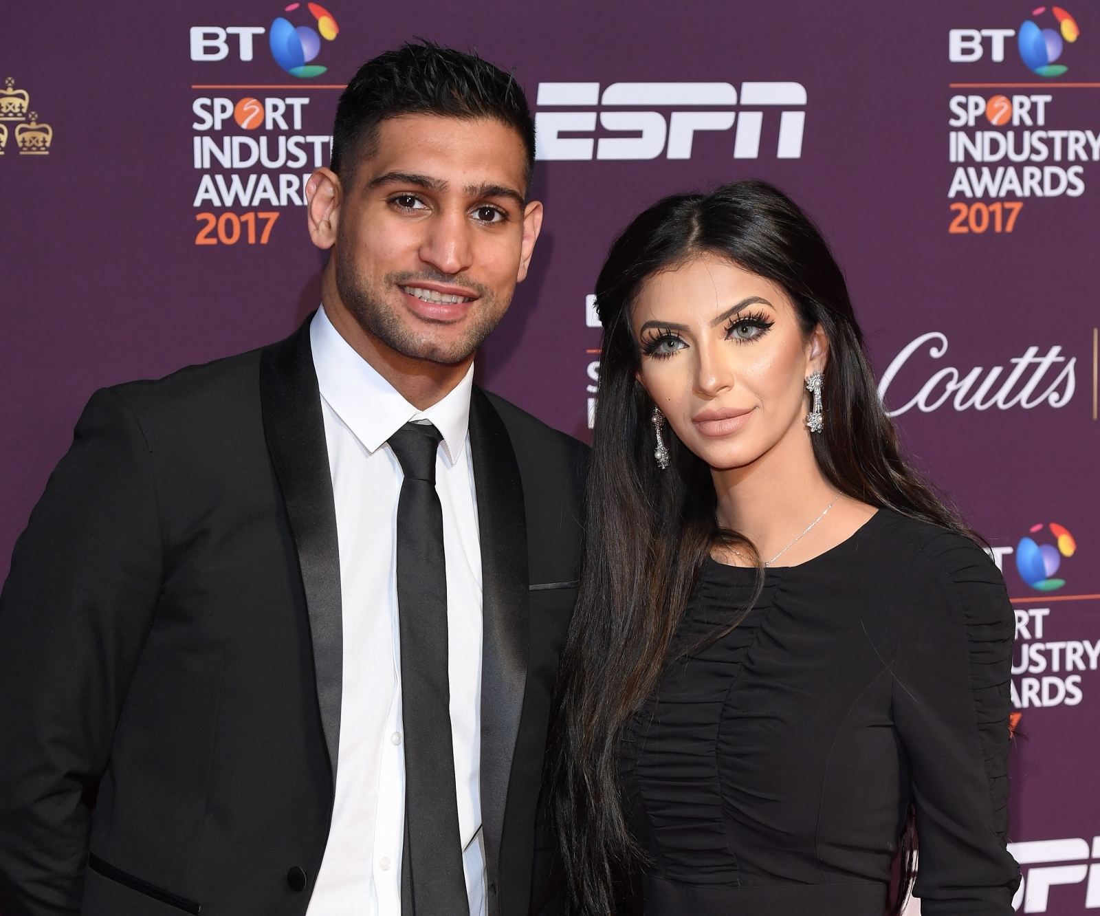 Amir Khan and Faryal Makhdoom