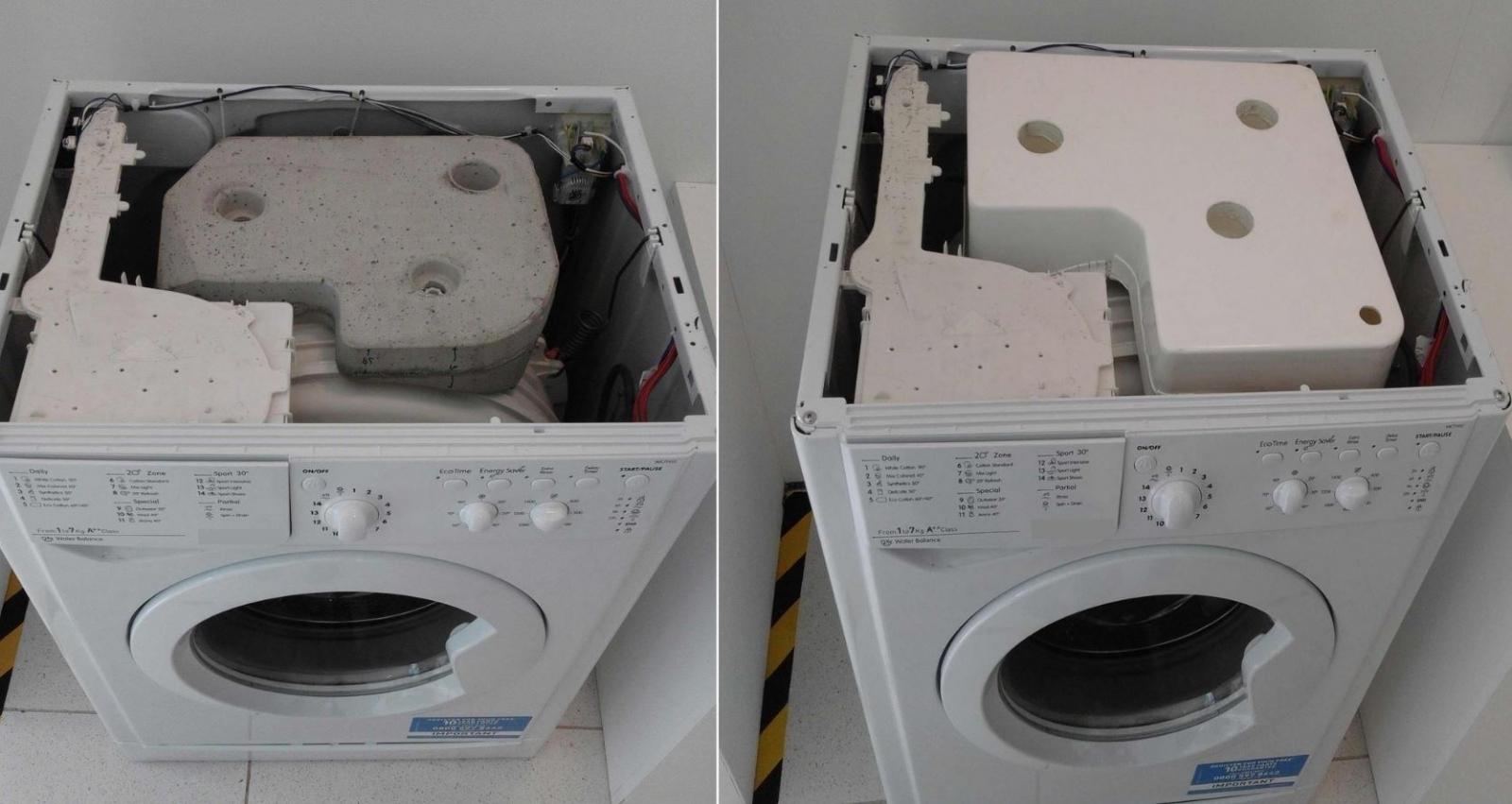 Washing machine invention environment