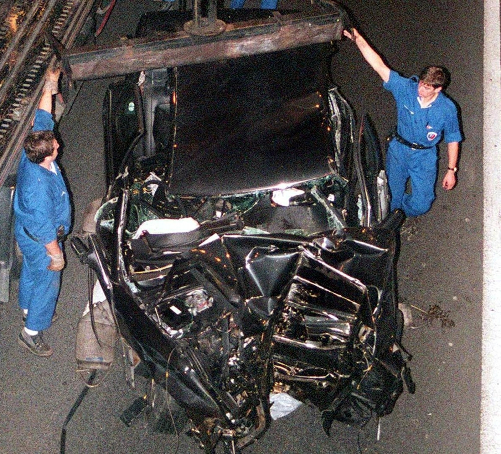 Diana Car Crash Type