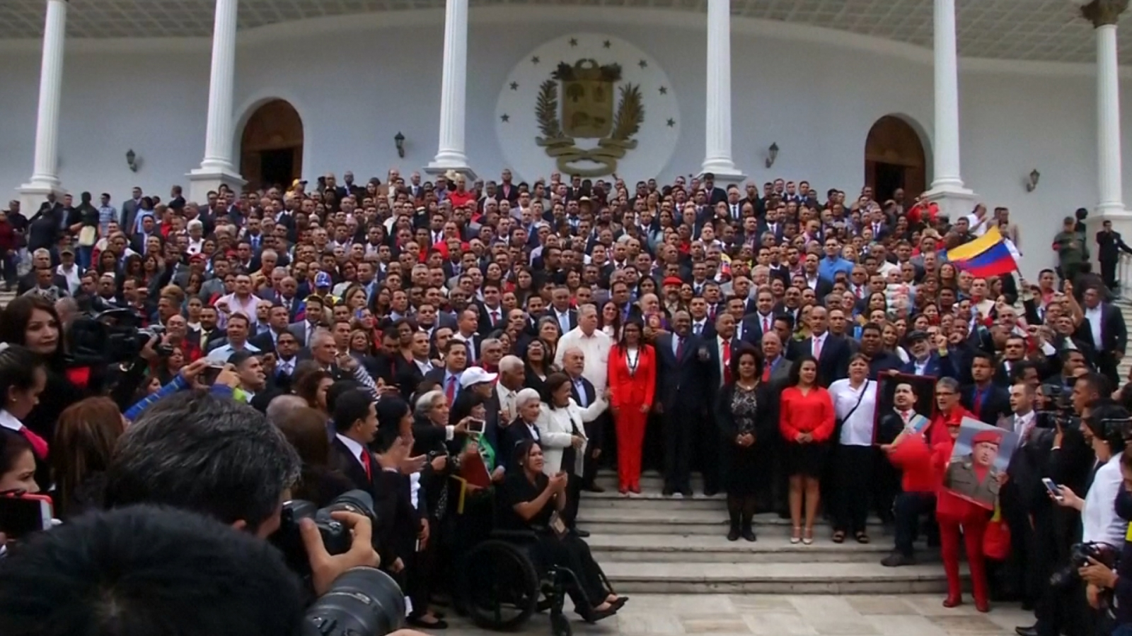 Venezuela: Inauguration of constituent assembly sparks new protests