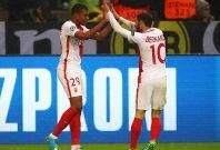 Kylian Mbappe and Bernardo Silva