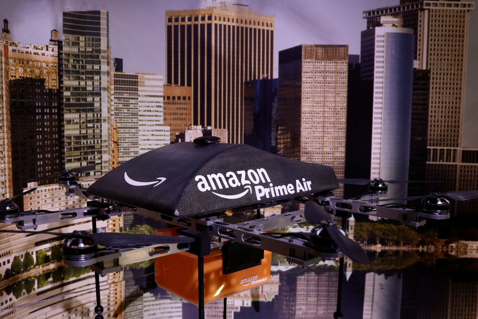 Amazon patent hints at drone stations