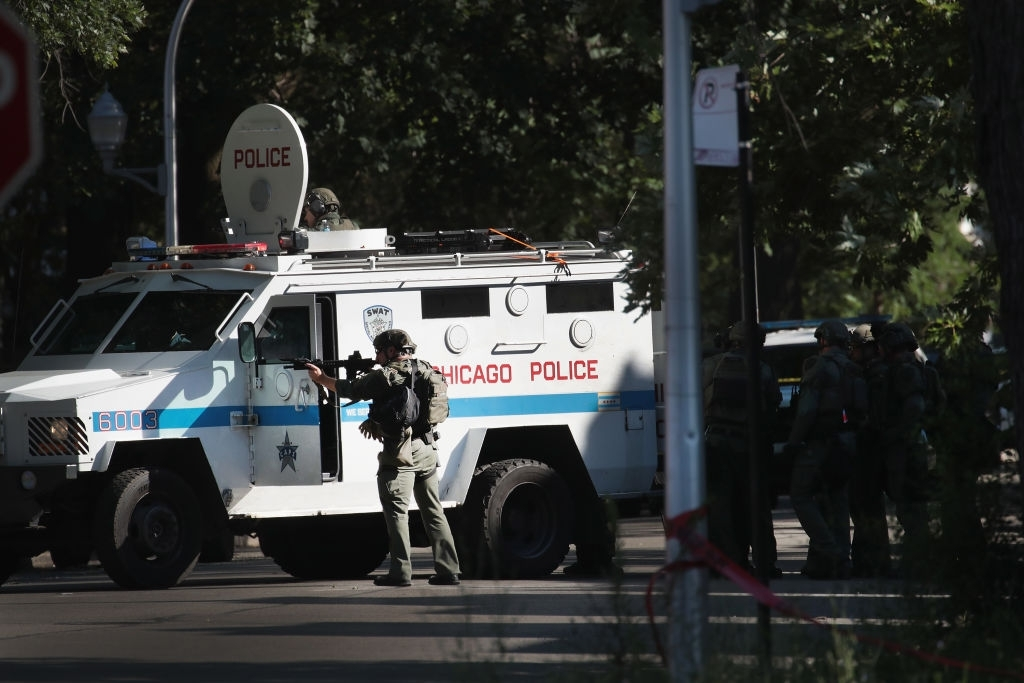Crime rate Chicago area falls