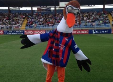 Valentino football mascot Extremadura