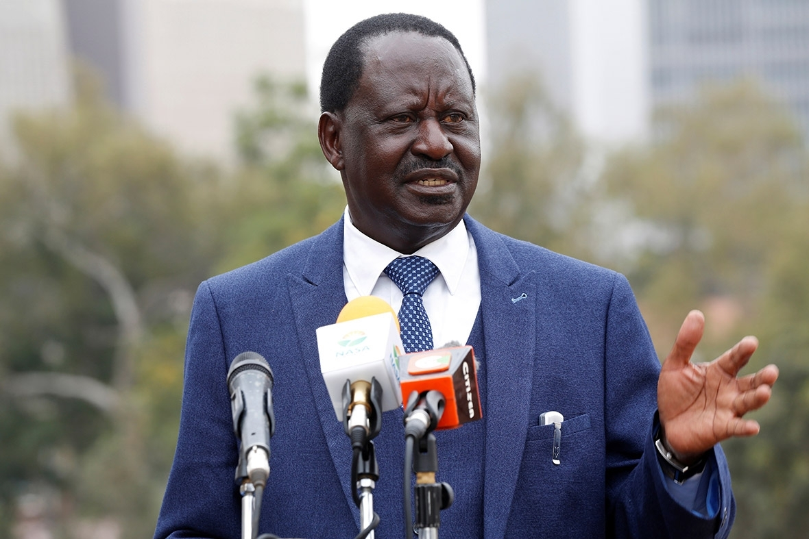 Image result for odinga and kenyatta