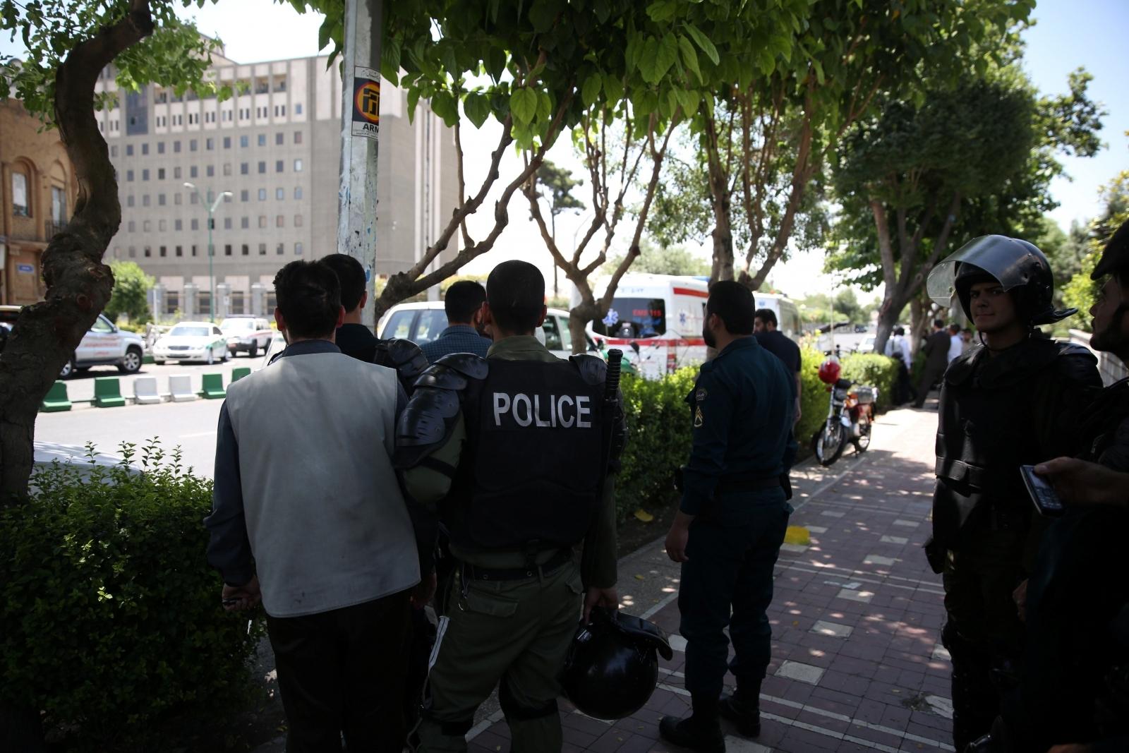 Iranian police