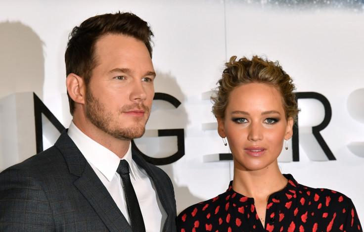 Chris Pratt Jennifer Lawrence