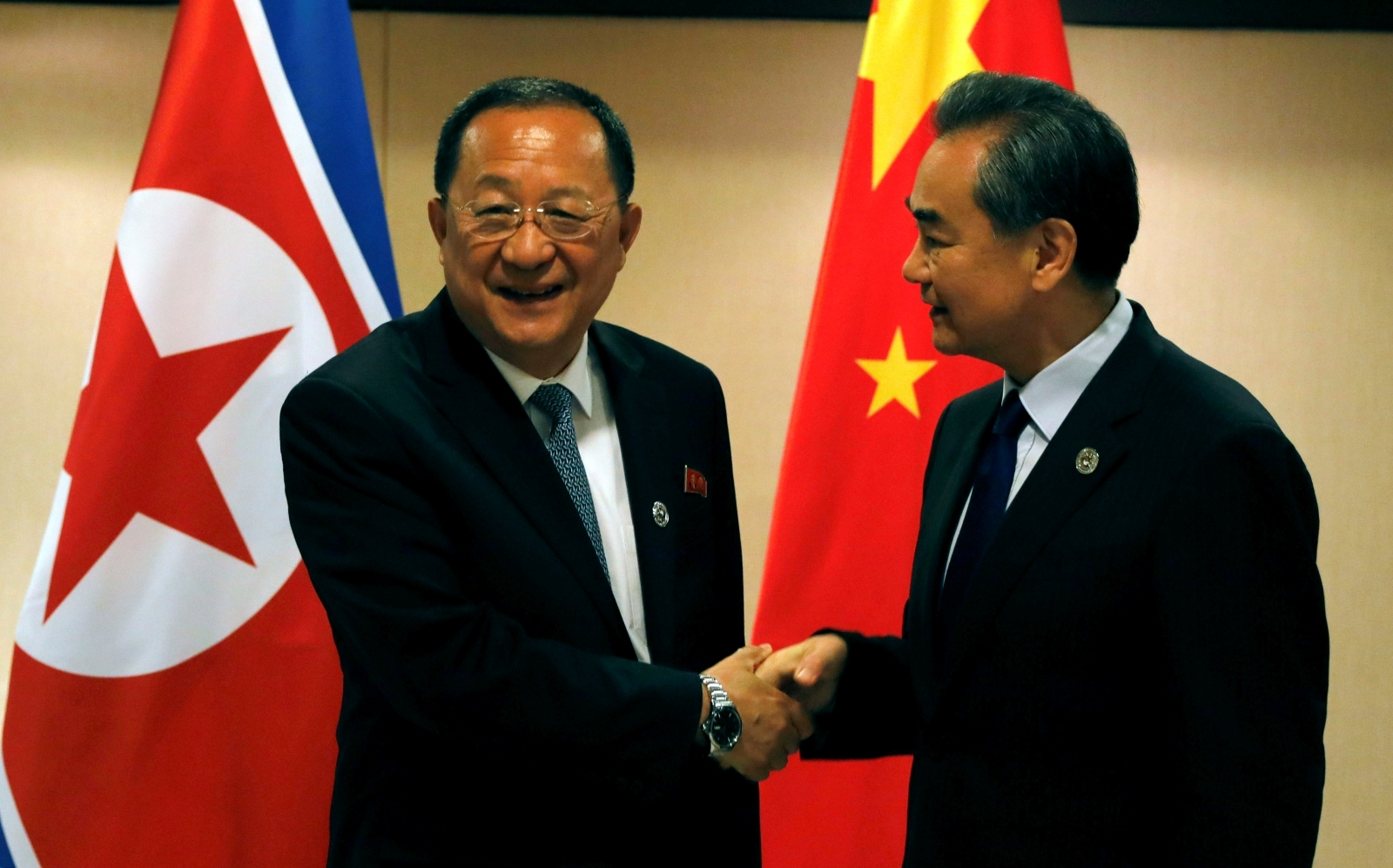 China North Korea foreign ministers