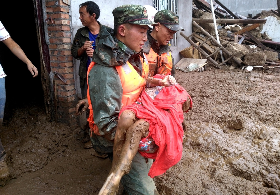 Second natural disaster hits China; 32 hurt