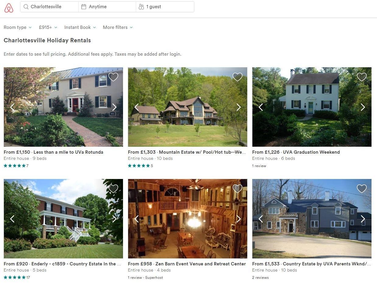 Airbnb blocks far-right nazi parties