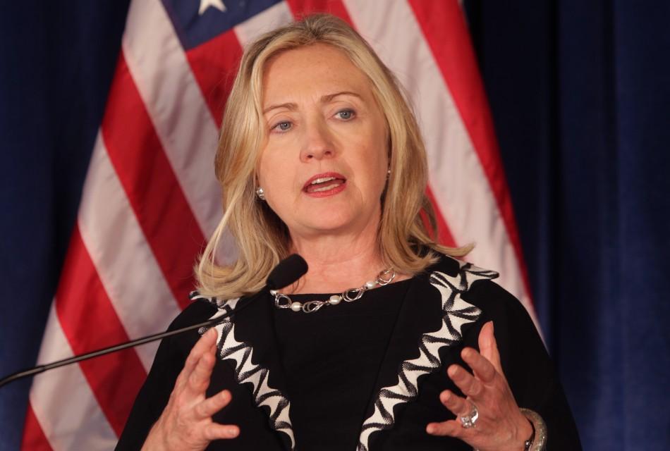 2. Hillary Clinton US Secretary of State