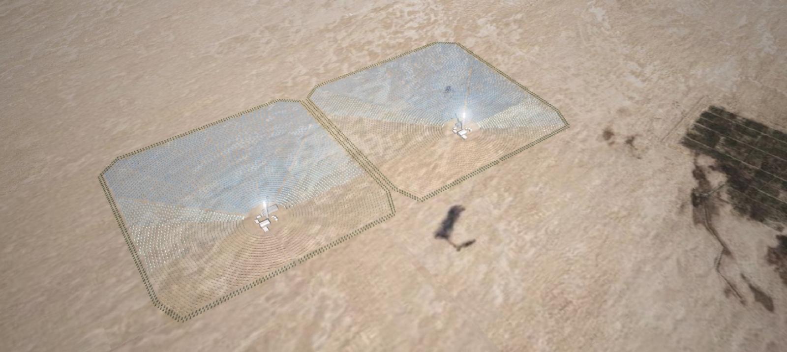 sahara solar power plant renewable