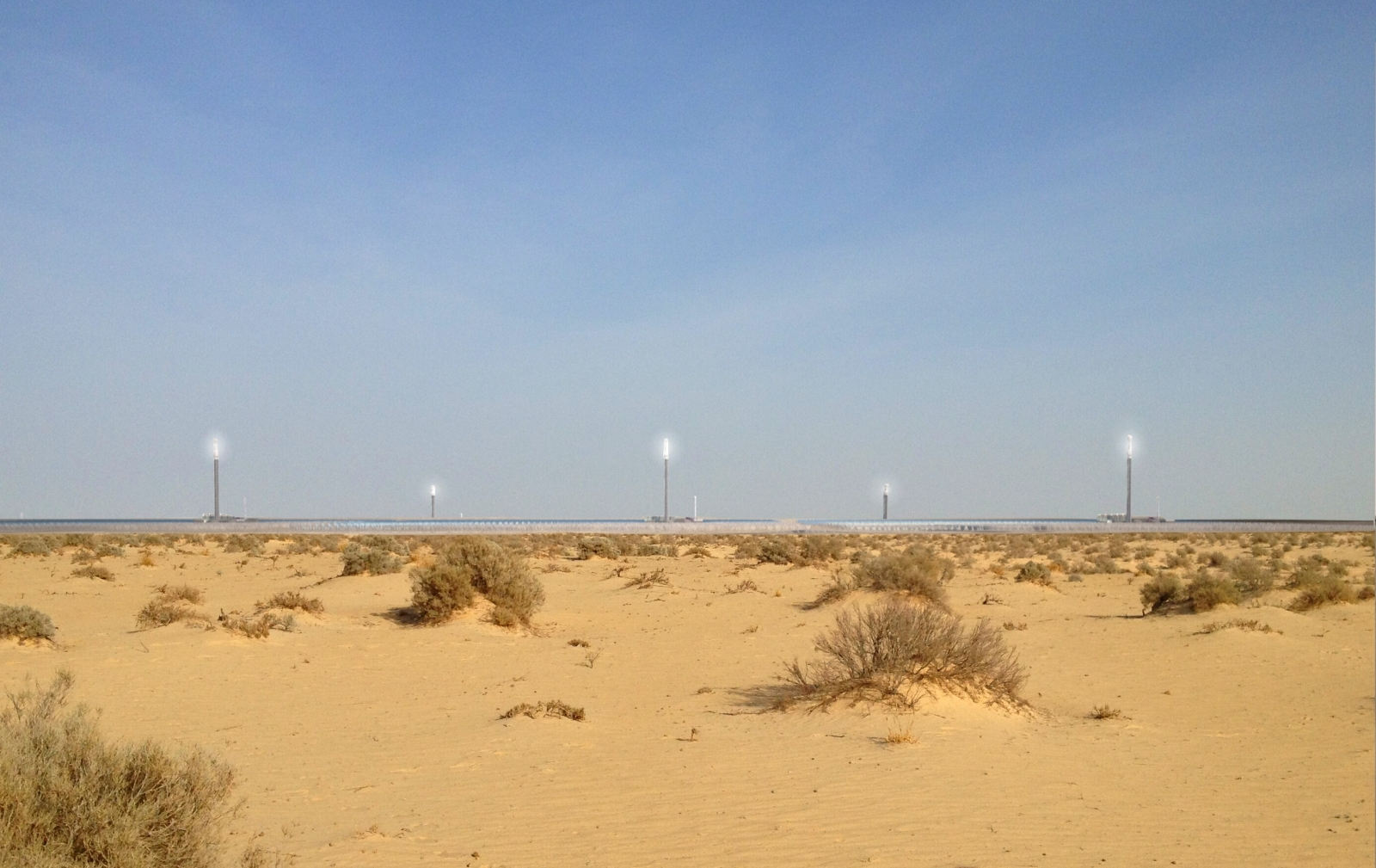 sahara solar power plant renewable